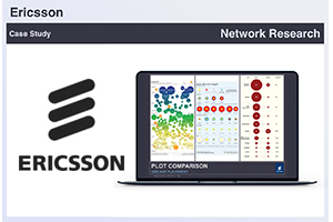 Ericsson brought me on board to research information visualization approaches and video gaming components for their next generation of network management applications.